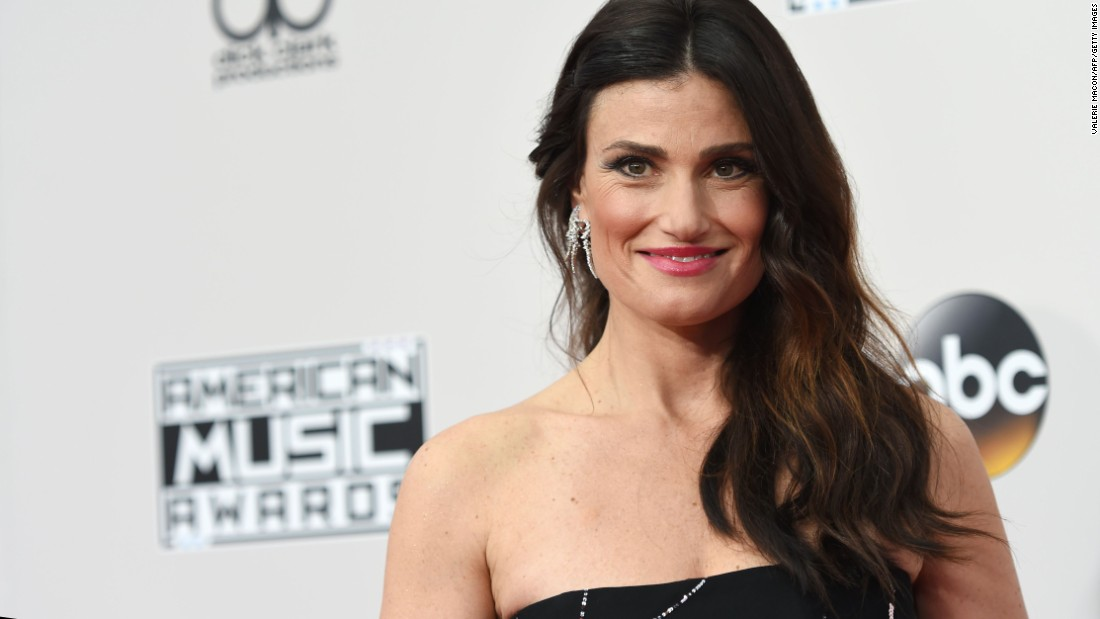 "Recording artist Idina Menzel will perform ""I See You,"" a song from her newest album, ""idina,"" to cap off ""CNN Heroes: An All-Star Tribute."""