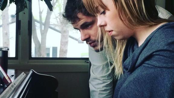 Singer/songwriter duo Lydia Lozia and Josiah Lemanski
