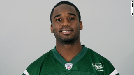 FLORHAM PARK, NJ - CIRCA 2011: In this handout image provided by the NFL, Joe McKnight of the New York Jets poses for his NFL headshot circa 2011 in Florham Park, New Jersey. (Photo by NFL via Getty Images)