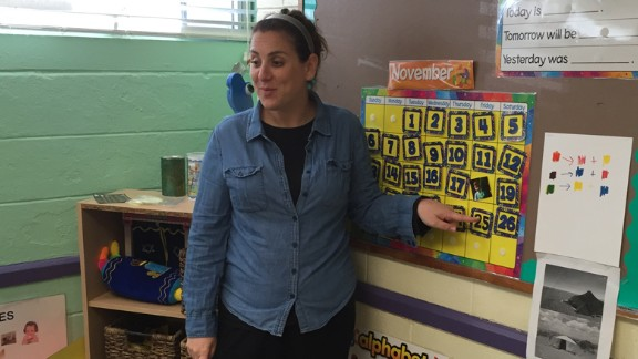Monica Schulman, a preschool teacher, will leave her job in January to focus on her fight against Parkinson's.