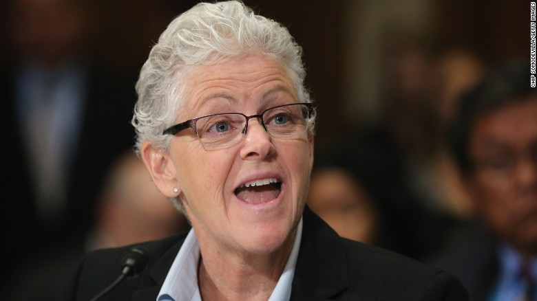 Biden to name Gina McCarthy to top domestic climate job