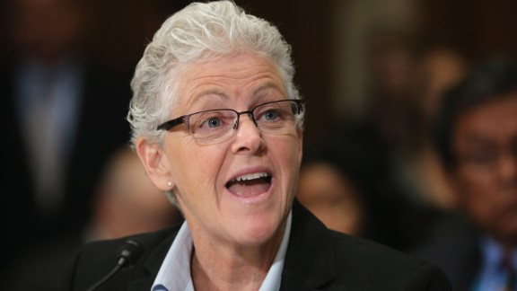 Gina McCarthy, shown in 2015.
