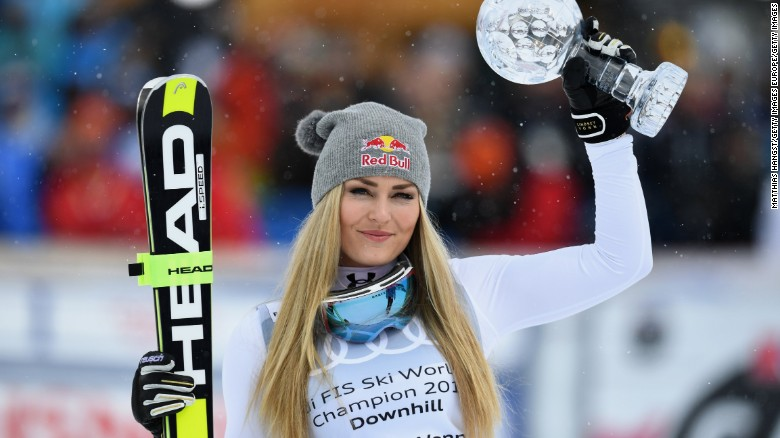 vonn naked Lindsay pictures downhill