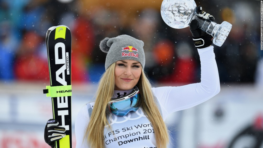 She also has Ingemar Stenmark's World Cup record of 86 victories in her sights. Vonn is the most successful woman in World Cup history with 77 victories.