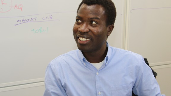 """Reliable and up-to-date information on new occurrences of cancer within Africa is notoriously difficult to collect. The team wants to work towards faster data collection within South Africa and more widely across the African continent. """"By tracking data digitally and pooling efforts across Africa, we can attempt to improve the accuracy of incidence figures,"""" explains Siwo (pictured)."""