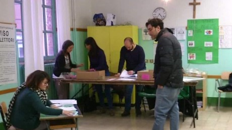 High turnout for crucial vote in Italy