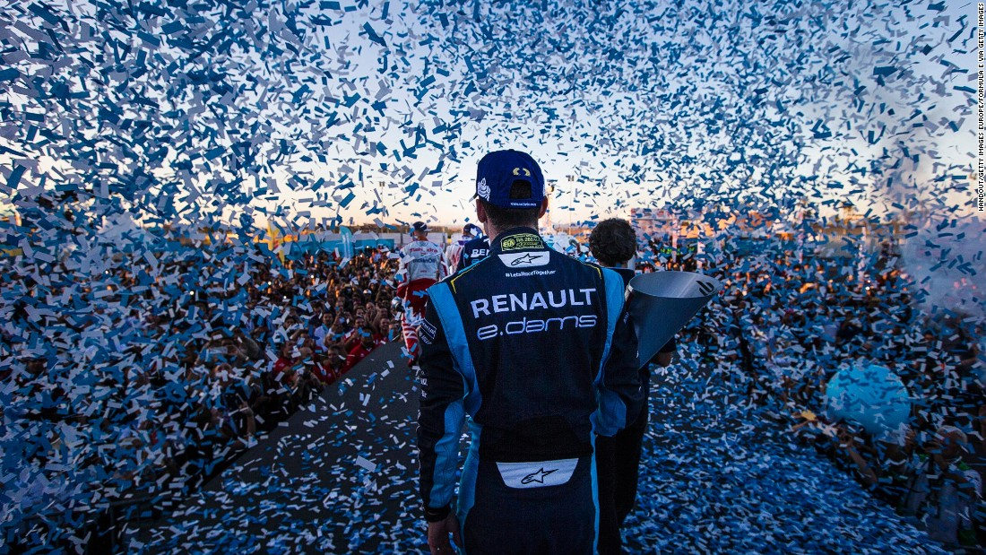 Renault e.Dams driver, Buemi made it two wins out of two in Marrakech to cement his position at the top of the drivers' championship.