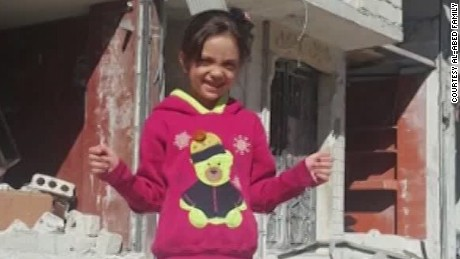 Seven-year-old Bana Alabed captured the world's attention with her tweets from Aleppo, Syria.