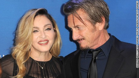 BEVERLY HILLS, CA - JANUARY 09:  Musician Madonna and actor Sean Penn attend the 5th Annual Sean Penn & Friends HELP HAITI HOME Gala benefiting J/P Haitian Relief Organization  at Montage Hotel on January 9, 2016 in Beverly Hills, California.  (Photo by Angela Weiss/Getty Images)