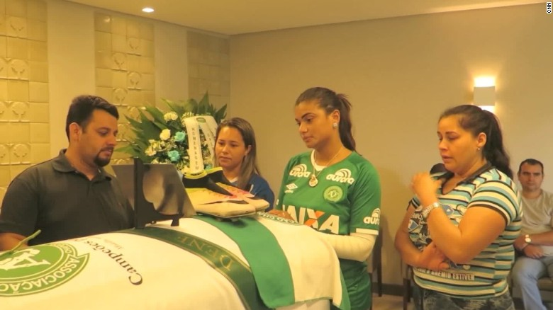 Funerals held for Brazilian soccer team