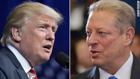 Al Gore, Trump discuss Paris climate deal by phone