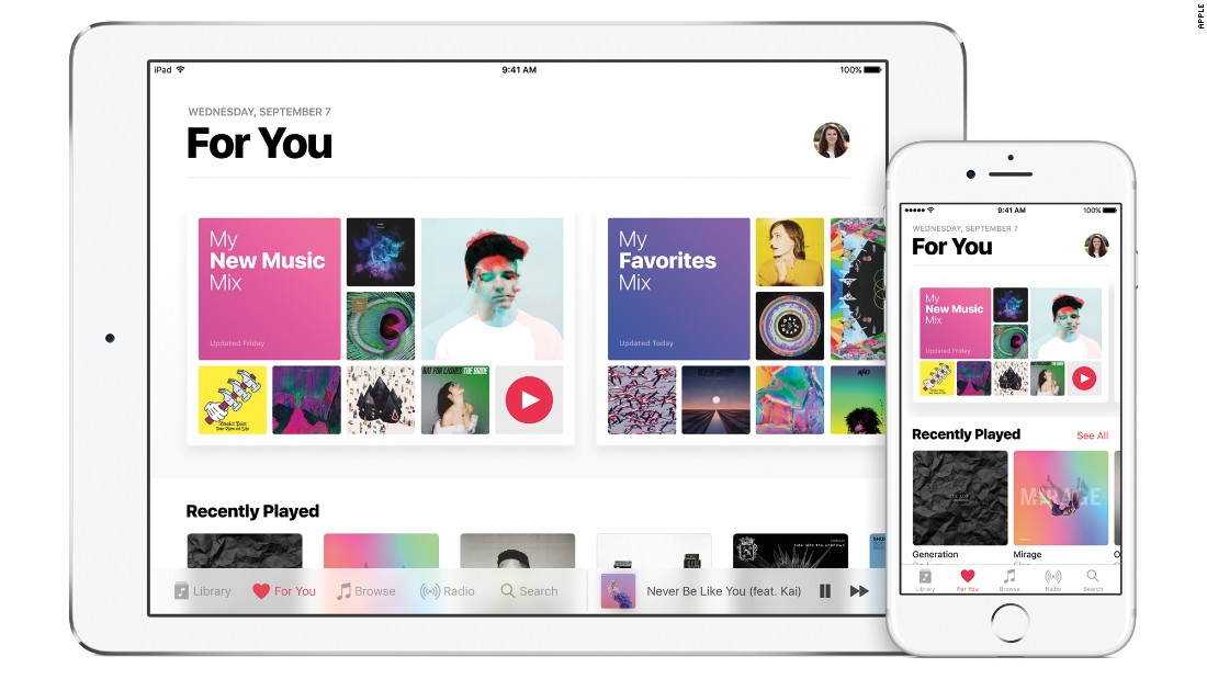 <strong>Apple Music:</strong> Choose a three or 12-month music membership. Three months start at $29.97. Find details at apple.com/music. Music lovers could also take advantage of Apple Music's offer of  three months of free listening.