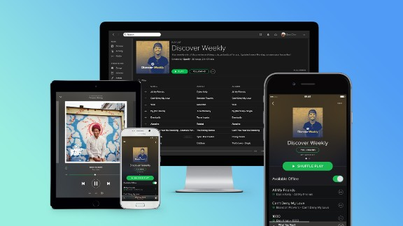Spotify: During the holidays, this music service is offering a Spotify Premium three-month subscription for .99 cents.  You can buy electronic gift cards at giftcards.com. Recipients will need to create an account before they can redeem their code. Spotify offers a free version of its service with ads.