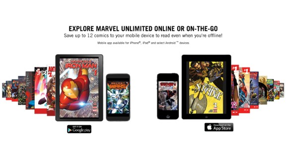 Marvel Unlimited: For $9.99 a month or $69 a year, members can enjoy thousands of comics. Visit marvelunlimited.com to get started. You will need to sign in with Facebook or Google, or make a new account.