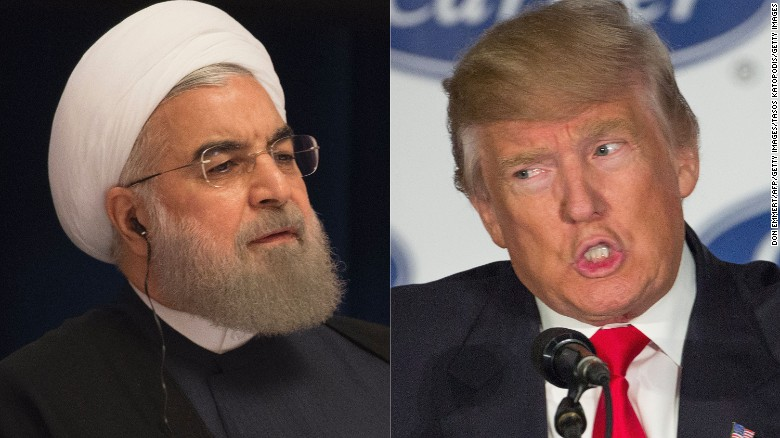 Trump hints at Iran deal's future