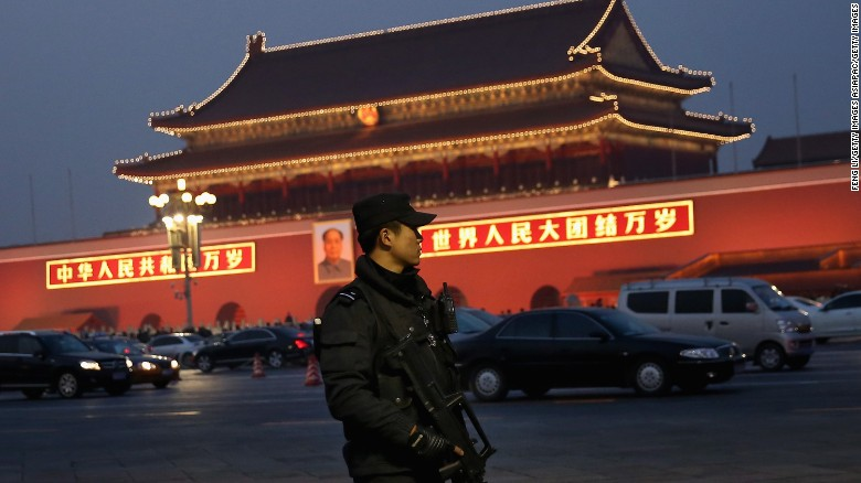 Human rights group slams China's corruption crackdown