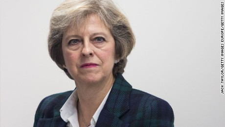 Theresa May commits to Brexit vote in UK Parliament