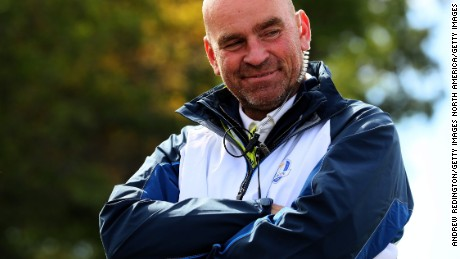 Thomas Bjorn: Europe's Ryder Cup captain