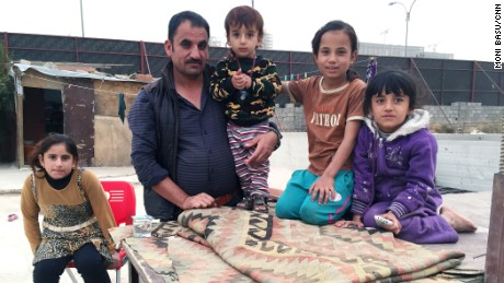 Khairo Ido and his family were among 50,000 Yaidis who became trapped on Sinjar Mountain.