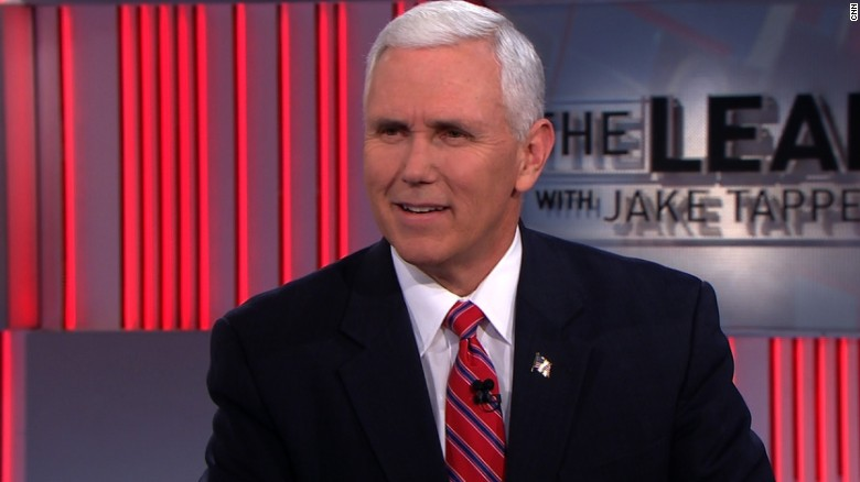 Pence pressed on clearance for Flynn's son