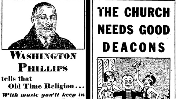 Columbia marketed Phillips as a traditional gospel singer.