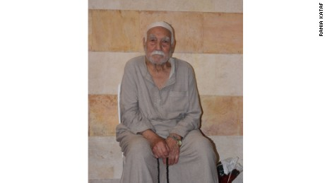 Abu Jassem Kabtoul is more than 100 years old, according to Rania Kataf.