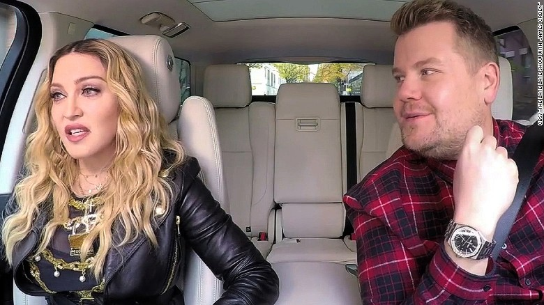 Madonna twerks during 'Carpool Karaoke'