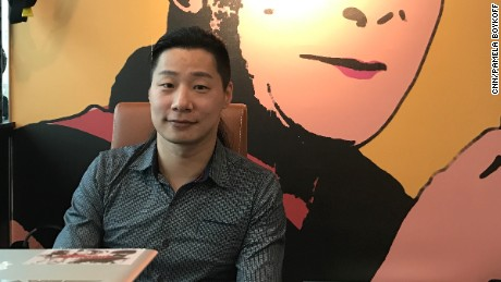 Taiwanese legislator and former musician Freddy Lim.