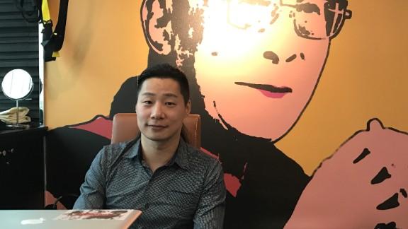 Taiwanese legislator and former musician Freddy Lim.