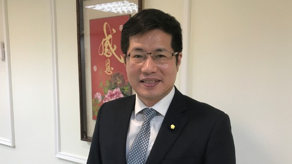 Lo Chih-Cheng, a legislator and member of the DPP, the party of President Tsai Ing-Wen.