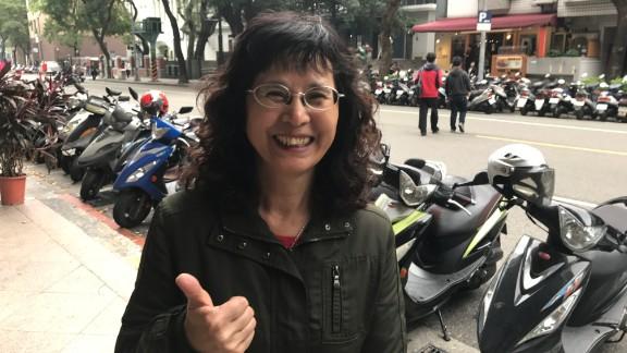 Taiwanese housewife Yang Lo-hsia, who said Trump
