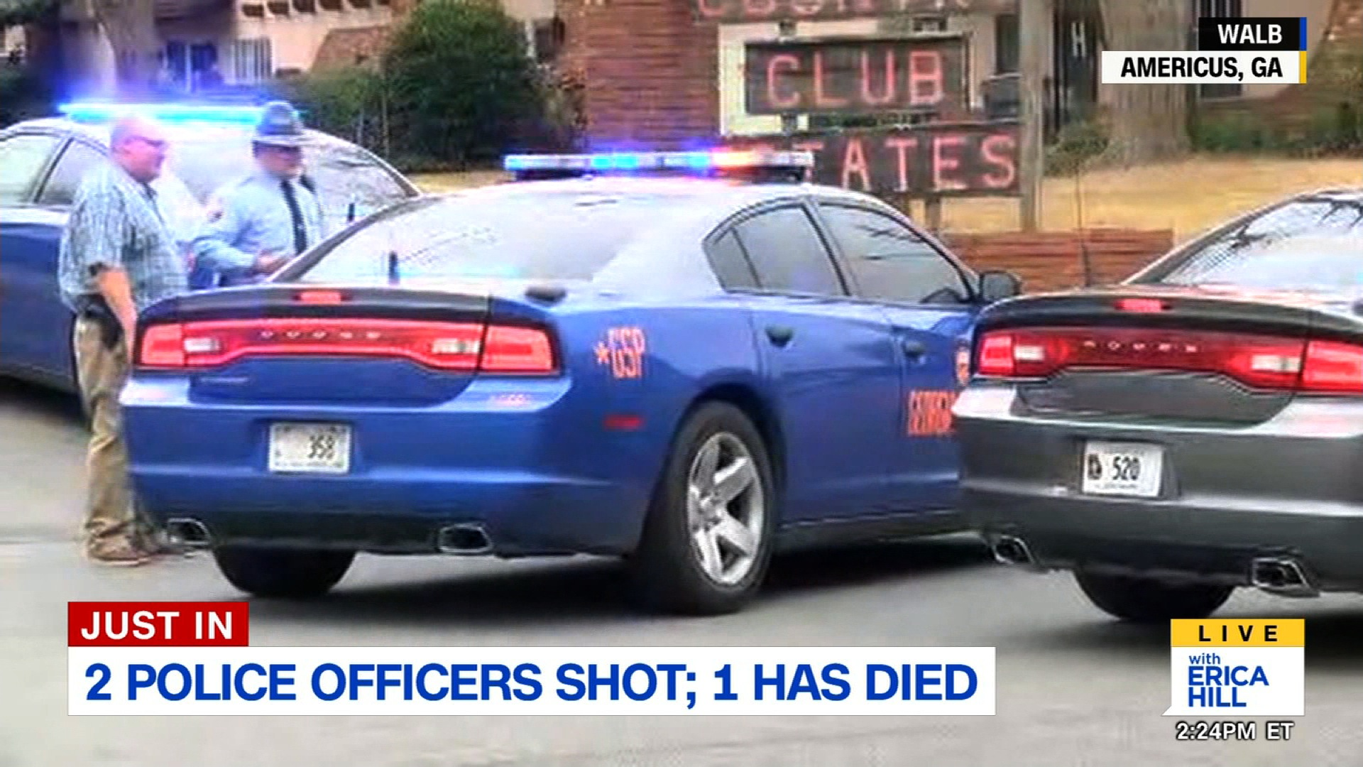 Two Georgia Police Officers Shot One Dead Cnn Video