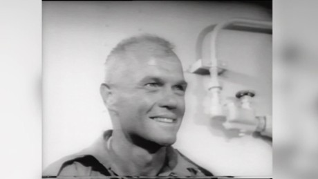 1962: John Glenn orbits Earth