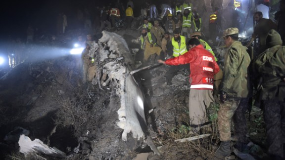 Pakistan International Airlines flight Flight PK-661 crashed near Abbottabad, Pakistan, killing all 47 people on board, according to the airline. The airline said the flight was carrying 42 passengers and five crew members when it lost contact with a control tower on its way from Chitral to Islamabad. It crashed into the mountains near Abbottabad and Havelian.