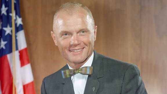 John Glenn, the former astronaut and US senator from Ohio, died Thursday, December 8, according to Ohio State University. He was 95. Glenn became the first American to orbit the Earth in 1962.