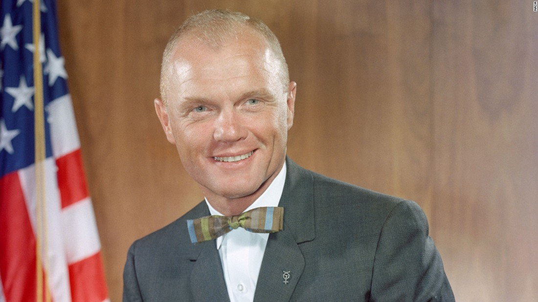 "John Glenn, the former astronaut and US senator from Ohio, <a href=""http://www.cnn.com/2016/12/08/health/john-glenn-dead/index.html"">died Thursday, December 8</a>, according to Ohio State University. He was 95. Glenn became the <a href=""http://www.cnn.com/videos/us/2012/02/17/natpkg-john-glenn-orbits-earth.nasa-universal-newsreel"" target=""_blank"">first American to orbit the Earth</a> in 1962."