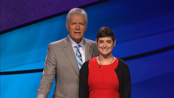 Cindy Stowell, 41, died Monday after a long battle with cancer. Prior to her passing, she competed on Jeopardy! to raise money for cancer research. her episode appears next week.