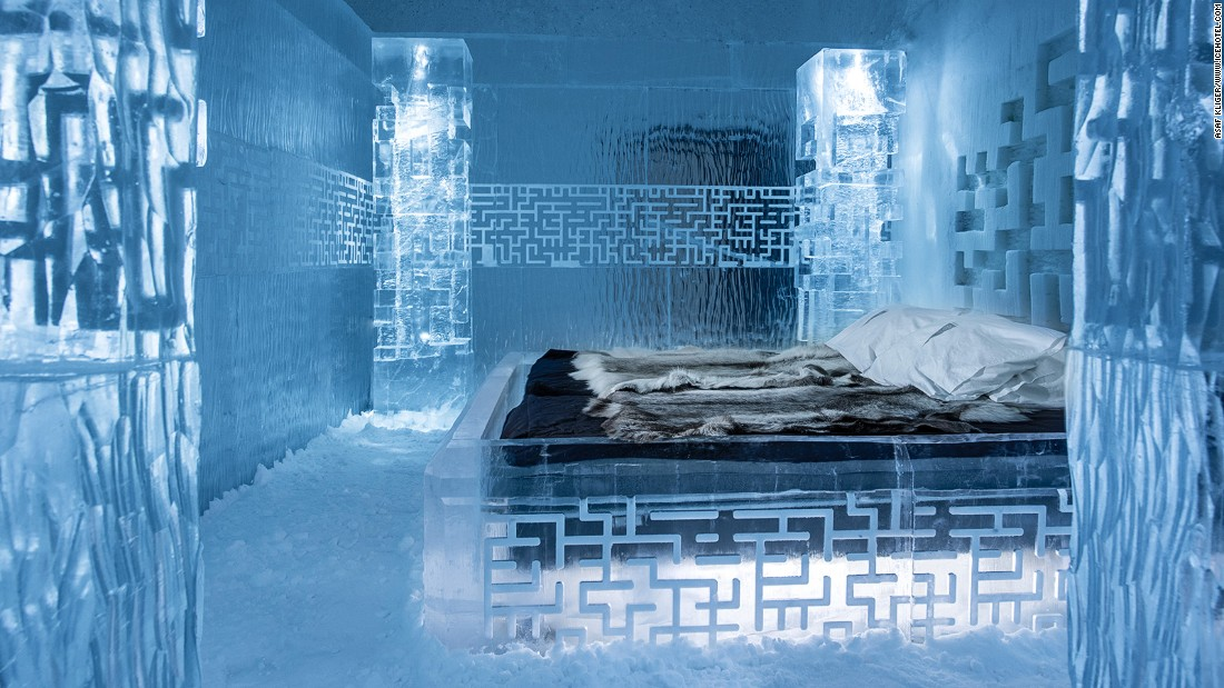 Icehotel World S First Permanent Ice Hotel Opens In Sweden Cnn Travel
