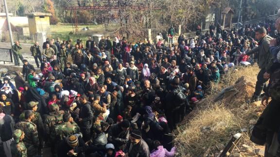 "CNN's Fred Pleitgen described the migration as an ""avalanche."""