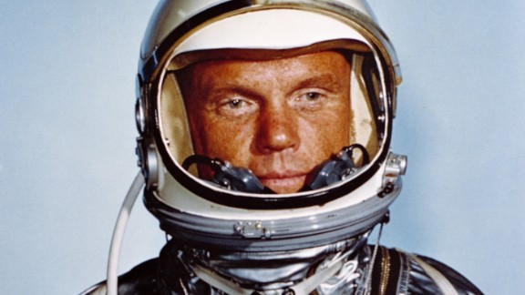 John Glenn, the first American to orbit the Earth, died December 8, according to the Ohio State University. He was 95.