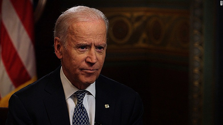 Biden: Economy not 'central' in Clinton message