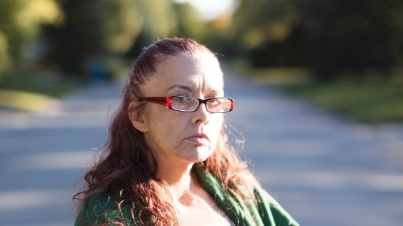 """Julie Estrada-Medina, 48, a recently released prisoner, was approved for Medicaid in October. She felt that she had to choose between her sobriety """"or my freedom, one of the two."""""""