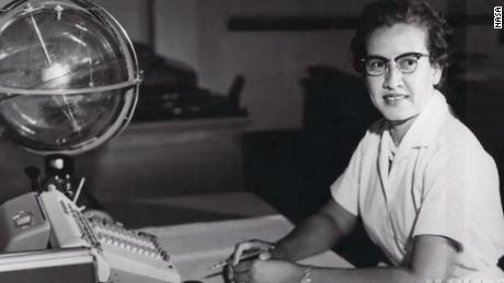 "Katherine Johnson worked in the ""Computer Pool"" at NASA."