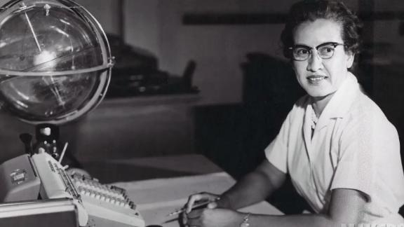 NASA mathematician Katherine Johnson was one of the black women to have made spaceflights possible for US crews.