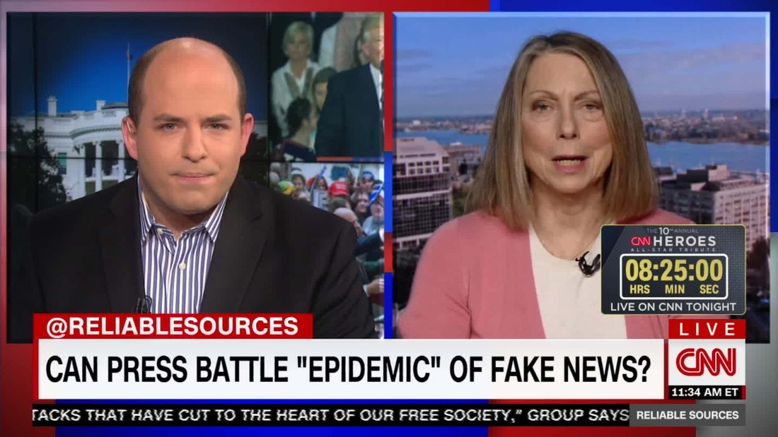 what to do about viral fake news cnn video