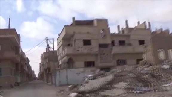 Palmyra and Aleppo