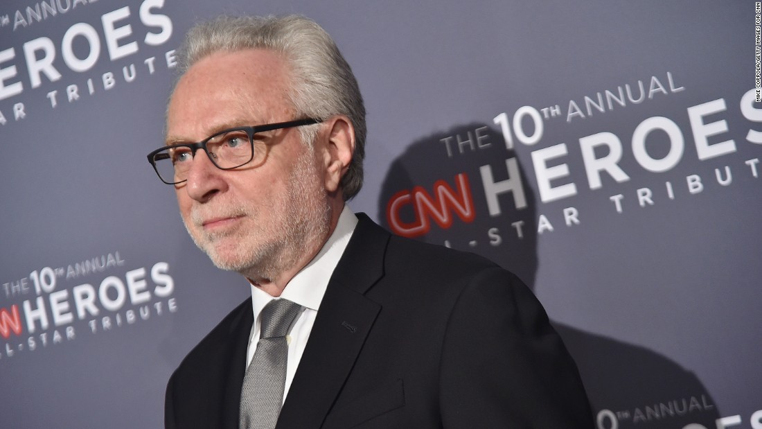 CNN anchor Wolf Blitzer is also lending his star power to Sunday's event.