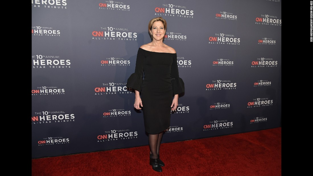 Actress Edie Falco attends CNN Heroes Gala 2016 at the American Museum of Natural History on December 11, 2016 in New York City.