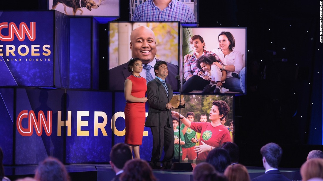 "Olympic gymnast Laurie Hernandez introduces CNN Hero Jeison Aristizábal. <a href=""http://www.cnn.com/2016/06/23/health/cnn-heroes-jeison-aristizabal/index.html"" target=""_blank"">His foundation</a> provides educational and medical services to young people living with disabilities in Colombia."