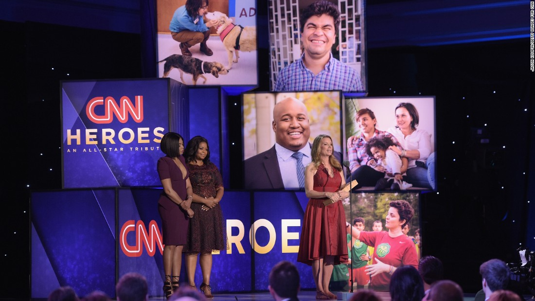 "CNN Hero Becca Stevens of <a href=""http://www.cnn.com/2016/06/02/us/cnn-hero-becca-stevens/index.html"" target=""_blank"">Thistle Farms</a> speaks onstage with actors Taraji P. Henderson and Octavia Spencer. Stevens' nonprofit allows women who've battled Nashville street life to live in residential centers at no cost and find gainful employment."